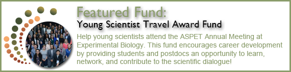 Featured Fund: Young Scientist Travel Award Fund