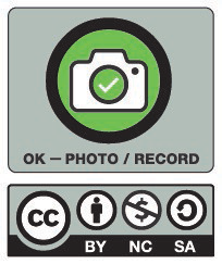 OK to Photo / Recording - Creative Commons License