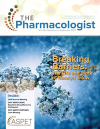 September 2017 The Pharmacologist Cover